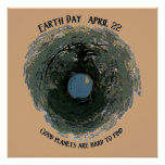 Earth Day-Good Planets Poster