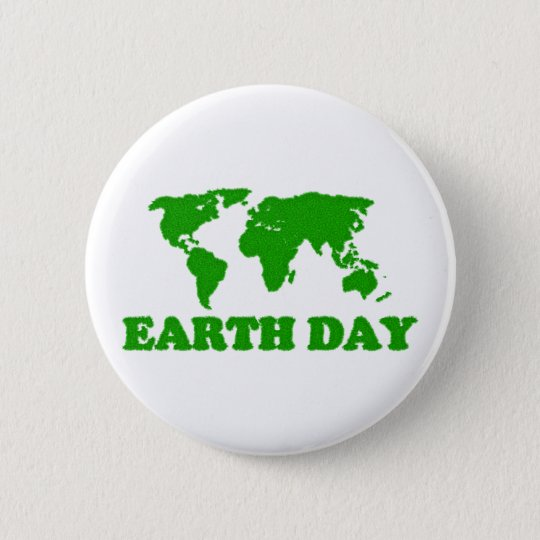 Earth Day Grass Map Button