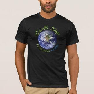 Earth Day Green Blue D T-Shirt