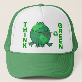 Earth Day Green Environment Trucker Hat