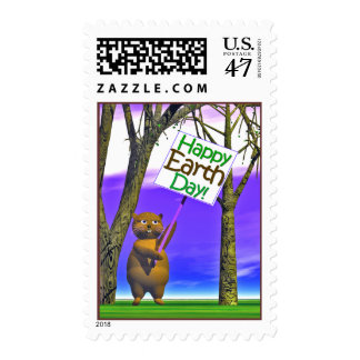 Earth Day Greeting Postage
