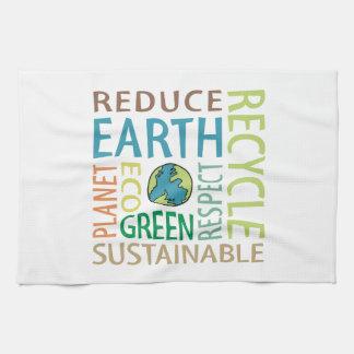 Earth Day Hand Towel