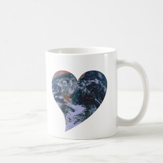 Earth Day Heart Coffee Mug