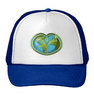 Earth Day Heart Trucker Hat