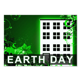 earth day : hi-fi building card