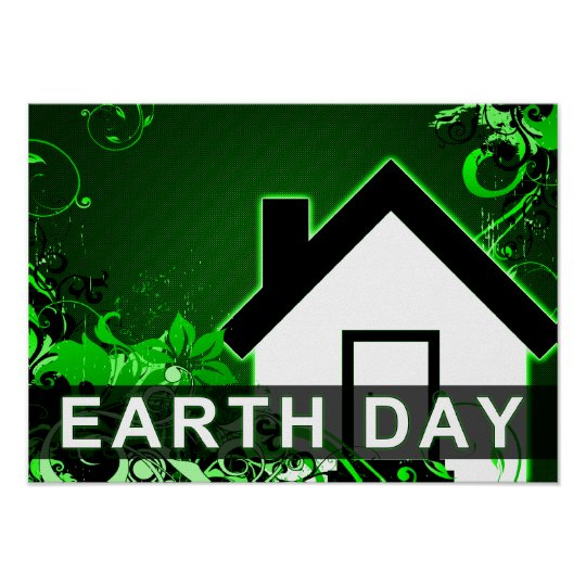 earth day : hi-fi home poster