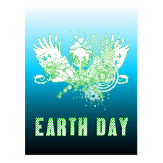 earth day : hi-fi tree postcard