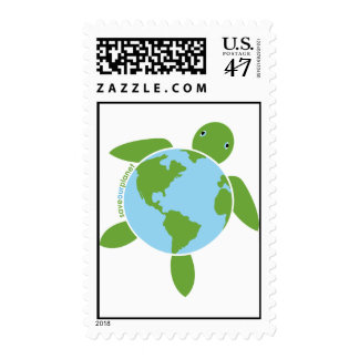 Earth Day Honu US Postage Stamp