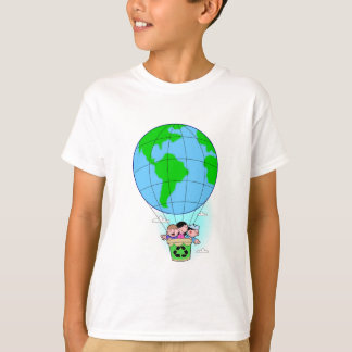 Earth Day hot air balloon T-Shirt