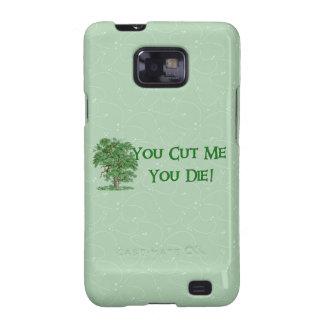 Earth Day Humor Samsung Galaxy SII Case
