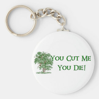 Earth Day Humor Basic Round Button Keychain