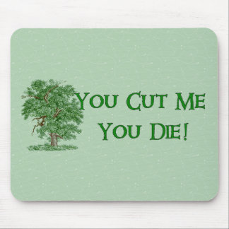 Earth Day Humor Mouse Pad