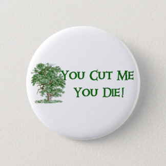 Earth Day Humor Pinback Button