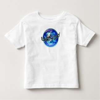 Earth Day in Blue Toddler T-shirt