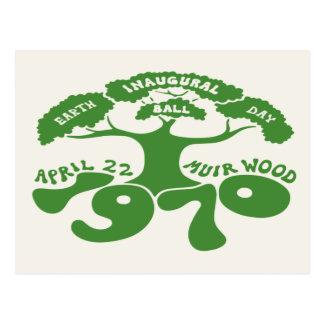 Earth Day Inaugural Ball Postcard
