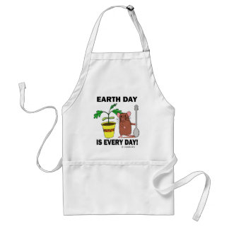 Earth Day Is Every Day Adult Apron