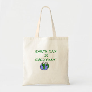 Earth Day Is Every Day! Budget Tote Bag