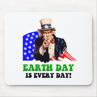 Earth Day is every day! Mouse Pad