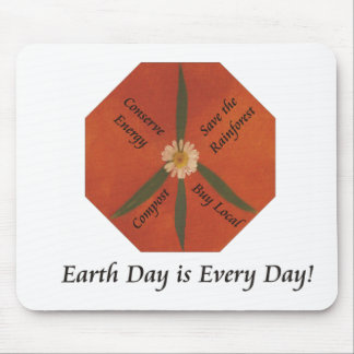 Earth Day is Every Day Mouse Pad