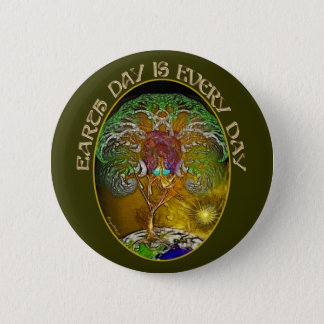 Earth Day is Every Day Pinback Button