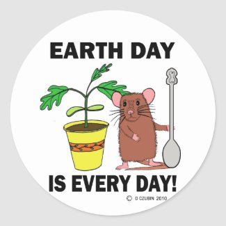 Earth Day Is Every Day sticker