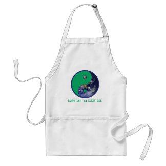 Earth Day is Every Day Yin Yang Tshirts Mugs Aprons