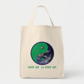 Earth Day is Every Day Yin Yang Tshirts, Mugs Tote Bag
