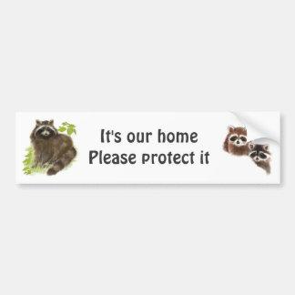 Earth Day  It's our home Sticker Car Bumper Sticker