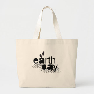 EARTH DAY JUMBO TOTE BAG