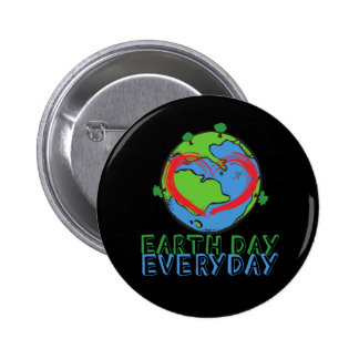 Earth Day: Keep Mother Nature Green & Recycled Button