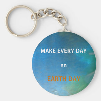 EARTH DAY - key chain