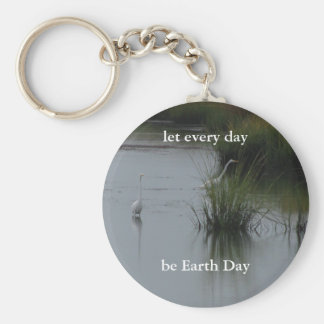 Earth Day Keychain