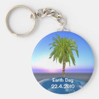 Earth Day Keyring Key Chain