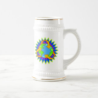 Earth Day Kids Beer Stein