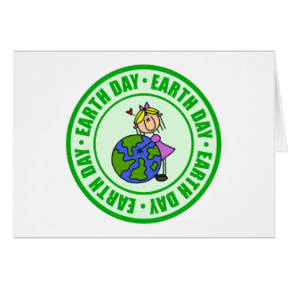 Earth Day Kids Gift Greeting Card
