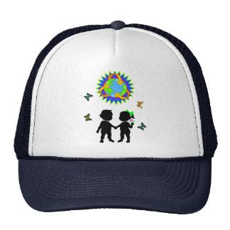 Earth Day Kids Trucker Hat