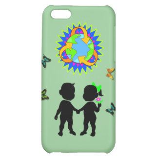 Earth Day Kids iPhone 5C Cases