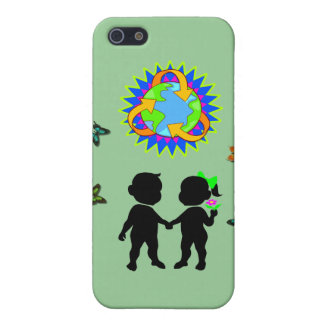 Earth Day Kids iPhone SE/5/5s Case