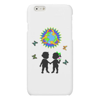 Earth Day Kids Matte iPhone 6 Case