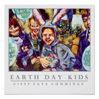 Earth Day Kids Poster