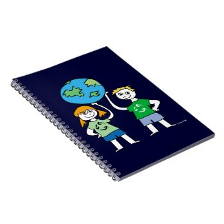 Earth Day Kids Recycle notebook