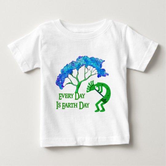 Earth Day Kokopelli Baby T-Shirt
