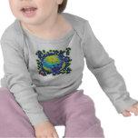 Earth Day Ladybug Baby Shirt