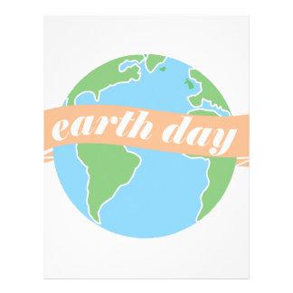 Earth Day Letterhead