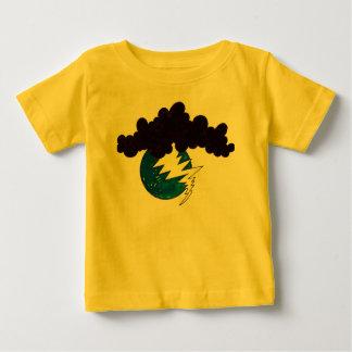 Earth Day Lightening. Baby T-Shirt