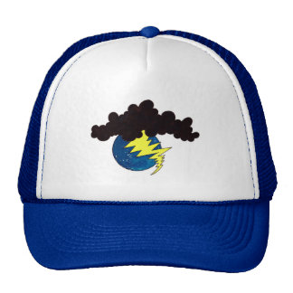 Earth Day Lightening. Trucker Hat