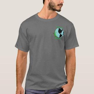 Earth Day Lizard Globe T-Shirt