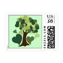 Earth Day Love Postage