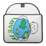 Earth Day Love the Earth Sleeve For MacBook Pro