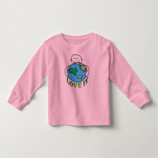 Earth Day Love the Earth Toddler T-shirt